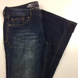Express Stella Boot Low Rise Fit Jeans DZ35